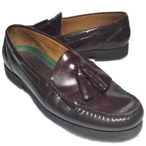 LL Bean Tassel Loafer Handmade Men's Shoes 12 EE